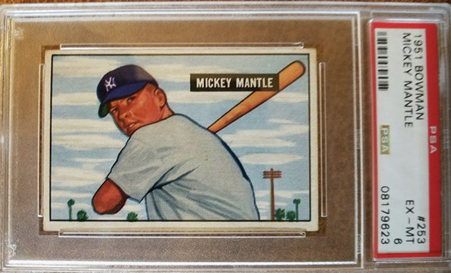 Throwback Thursday Taking A Look At The 1951 Bowman Mickey